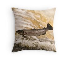Clean and Bright Throw Pillow