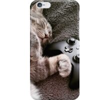 Gaming Catnap iPhone Case/Skin
