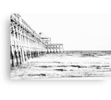 Folly Beach Pier: Charleston, SC Canvas Print