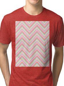 Baby Doll Chevrons Tri-blend T-Shirt