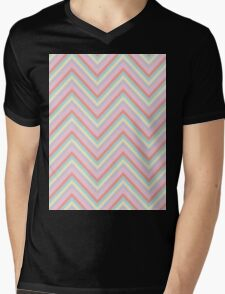 Baby Doll Chevrons Mens V-Neck T-Shirt