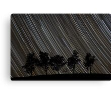 Stars Rising Over the Trees Canvas Print