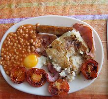 April fry-up by Alastair Humphreys