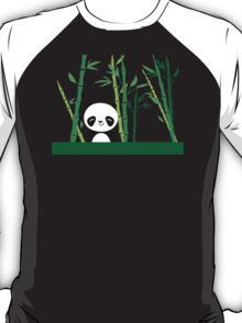 Cute: Panda with Bamboo T-Shirt