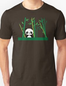 Cute: Panda with Bamboo T-Shirt