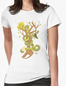 Snakey Womens Fitted T-Shirt