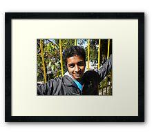 cheerful  Framed Print
