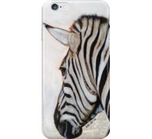 Zebra 2 iPhone Case/Skin
