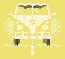 Knit Style Volks Camper Van Kids Tee