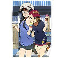 K-On! Mio and Ritsu Poster