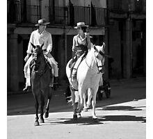Feria de Baeza Photographic Print