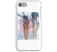 La Femme Hares iPhone Case/Skin