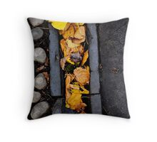 Look down and you will see. Throw Pillow