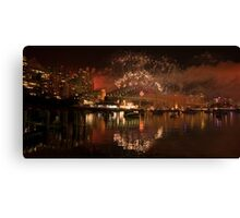 Party on the water Canvas Print