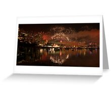 Party on the water Greeting Card