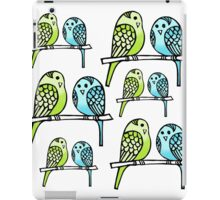 budgies iPad Case/Skin