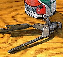 Squeeze handles, turn clockwise, open can by bernzweig