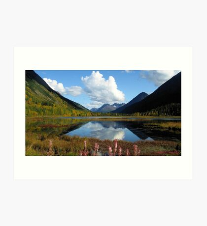 ALASKA'S KENAI DOUBLE BEAUTY Art Print