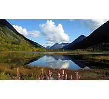 ALASKA'S KENAI DOUBLE BEAUTY Photographic Print