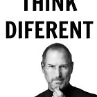 Steve jobs shirt - Think diferent by VectorAF