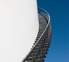 Oil Storage Tank by Marlene Hielema