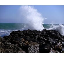 Ocean Splash Photographic Print