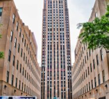 Rockefeller Center, New York City Sticker