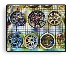 Fancy Wheels Canvas Print