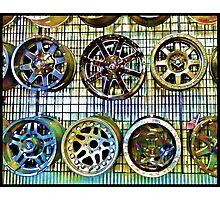 Fancy Wheels Photographic Print