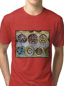 Fancy Wheels Tri-blend T-Shirt