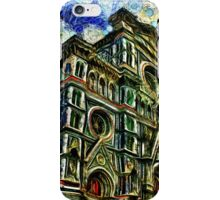 Cathedral Of Florence Fine Art Print iPhone Case/Skin