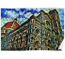 Cathedral Of Florence Fine Art Print Poster