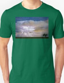 Dancing Thunderstorm Cell On The Horizon T-Shirt