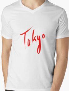 Tokyo Mens V-Neck T-Shirt