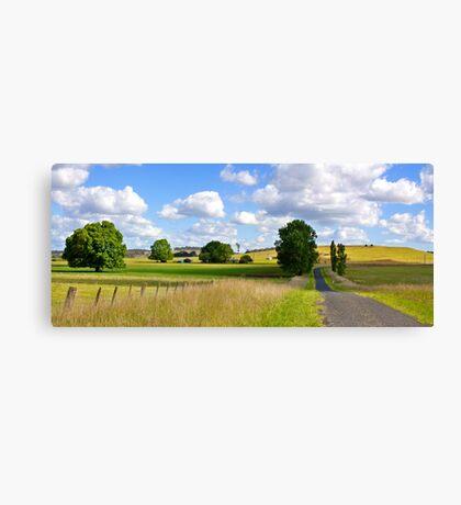 Green Hills Road Canvas Print