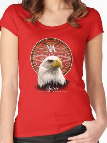 eagle nation Women's Fitted Scoop T-Shirt