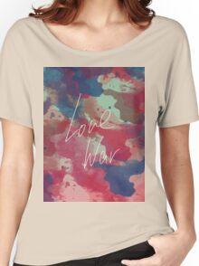 LOVE WAR Women's Relaxed Fit T-Shirt