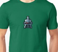Cylon Pixel Head Small Unisex T-Shirt