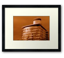 New BBC building. Framed Print