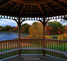 Gazebo Autumn by Rex  Montalban