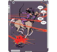 futzing lasers iPad Case/Skin