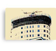 Open Windows. BBC Salford Quays. Canvas Print
