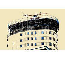 Open Windows. BBC Salford Quays. Photographic Print