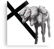 Faith and Fellowship Metal Print