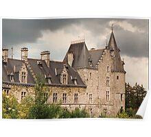 Fallais Castle - Belgium Poster
