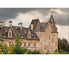 Fallais Castle - Belgium Photographic Print