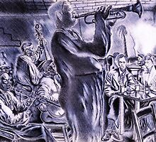 ...Belonging to The (Jazz) Scene, New Orleans, After Hours  by Steven Torrisi