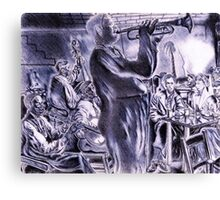 ...Belonging to The (Jazz) Scene, New Orleans, After Hours  Canvas Print