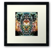 Fiery Emergence- The Breath of Chaos Framed Print