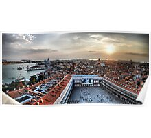 Venice panorama  West Poster